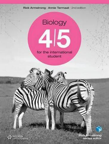 MYP Biology 4/5 for the International Student - Rick Armstrong