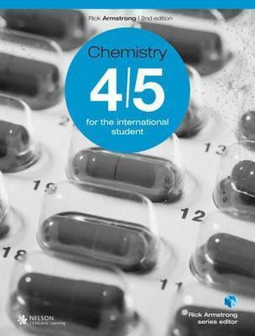MYP Chemistry 4/5 for the International Student - Rick Armstrong