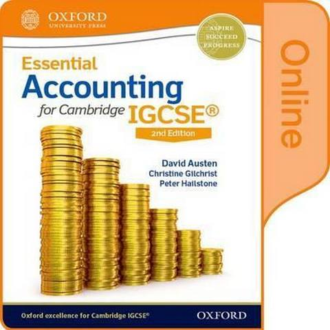 Essential Accounting for Cambridge IGCSE: Online Student Book - David Austen