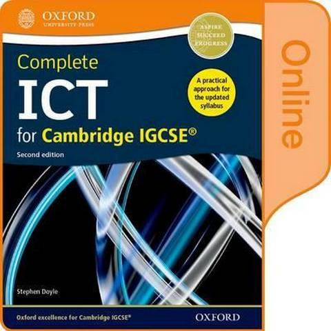 Complete ICT for Cambridge IGCSE Online Student Book - Stephen Doyle