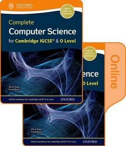 Complete Computer Science for Cambridge IGCSE (R) & O Level Print & Online Student Book Pack - Alison Page