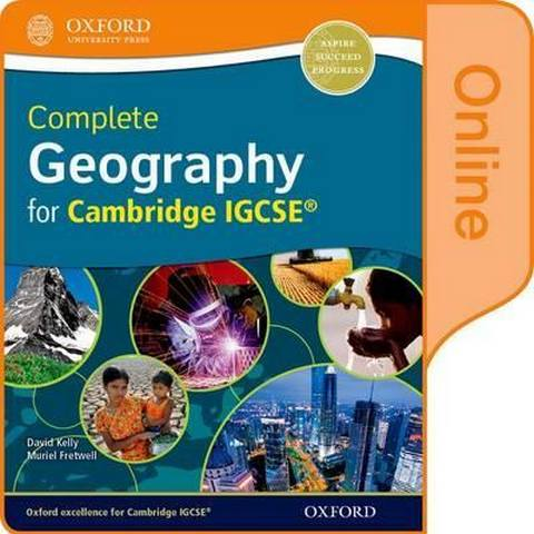 Complete Geography for Cambridge IGCSE: Online Student Book - David Kelly