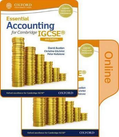 Essential Accounting for Cambridge IGCSE Print and Online Student Book Pack - David Austen