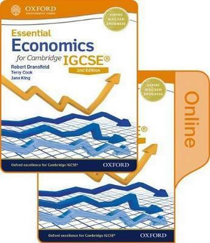 Essential Economics for Cambridge IGCSE (R) Print and Online Student Book Pack - Robert Dransfield