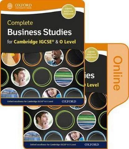 Complete Business Studies for Cambridge IGCSE and O Level Print & Online Student Book - Brian Titley