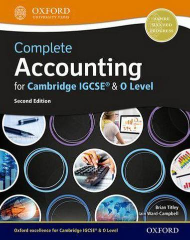 Complete Accounting for Cambridge IGCSE (R) & O Level - Brian Titley
