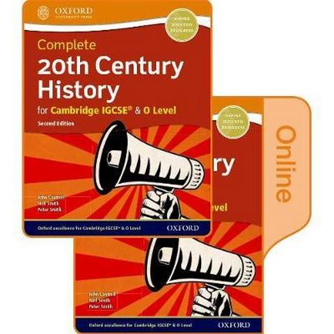 Complete 20th Century History for Cambridge IGCSE (R) & O Level: Print & Online Student Book Pack - John Cantrell