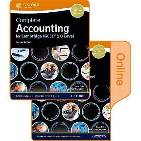 Complete Accounting for Cambridge IGCSE & O Level: Print & Online Student Book Pack - Brian Titley