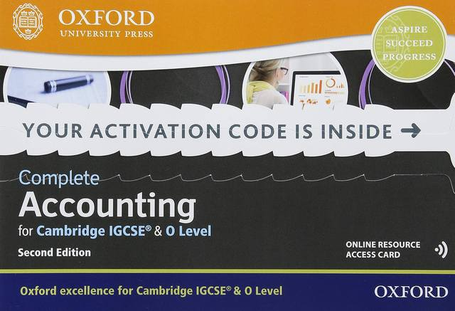 Complete Accounting for Cambridge IGCSE & O Level: Online Student Book - Brian Titley