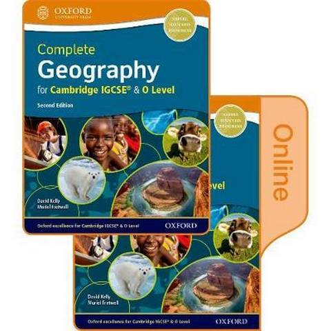 Complete Geography for Cambridge IGCSE & O  Level: Print & Online Student Book Pack - David Kelly