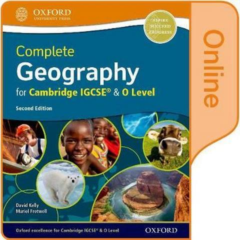 Complete Geography for Cambridge IGCSE & O Level: Online Student Book - David Kelly