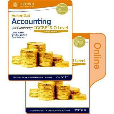 Essential Accounting for Cambridge IGCSE & O Level: Print & Online Student Book Pack - David Austen