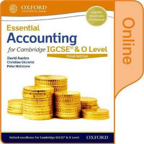 Essential Accounting for Cambridge IGCSE & O Level: Online Student Book - David Austen