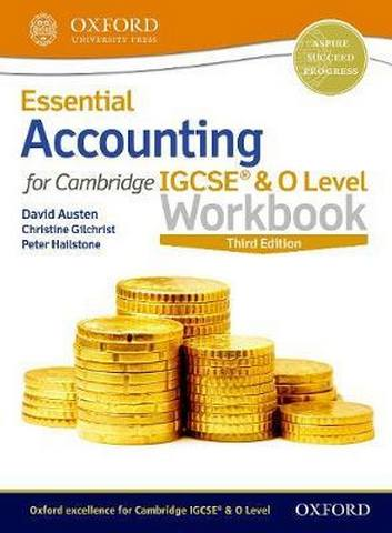 Essential Accounting for Cambridge IGCSE (R) & O Level Workbook - David Austen
