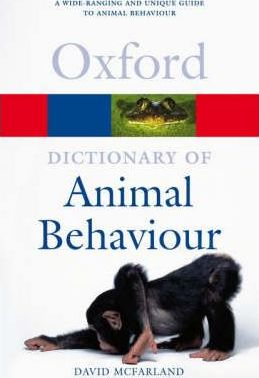 A Dictionary of Animal Behaviour - David McFarland