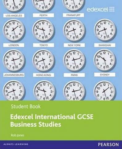 Edexcel International GCSE Business Studies Student Book with ActiveBook CD - Rob Jones