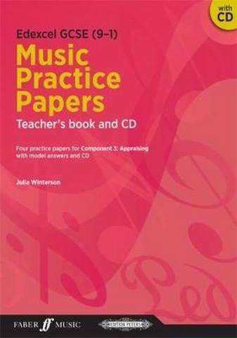Edexcel GCSE Music Practice Papers Teacher's Book and CD - Julia Winterson