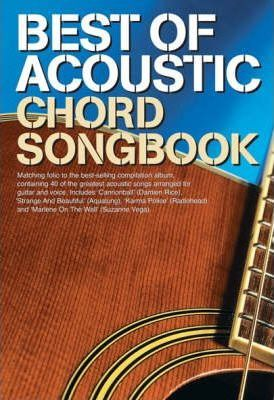Best Of Acoustic: Guitar Chord Songbook - Tom Fleming