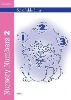 Nursery Numbers Book 2 - Sally Johnson