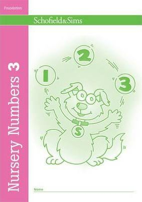 Nursery Numbers Book 3 - Sally Johnson