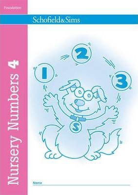 Nursery Numbers Book 4 - Sally Johnson