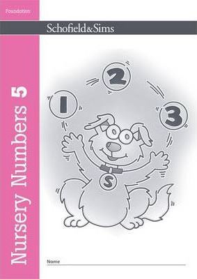 Nursery Numbers Book 5 - Sally Johnson