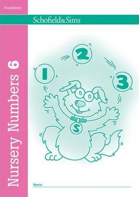 Nursery Numbers Book 6 - Sally Johnson