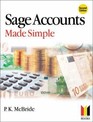 Sage Accounts Made Simple - P. K. McBride