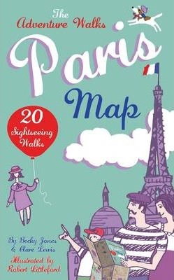 Adventure Walks Paris Map