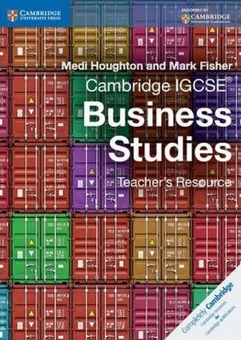 Cambridge International IGCSE: Cambridge IGCSE (R) Business Studies Teacher's Resource CD-ROM - Medi Houghton