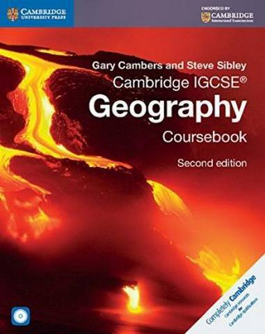 Cambridge International IGCSE: Cambridge IGCSE (R) Geography Coursebook with CD-ROM - Gary Cambers