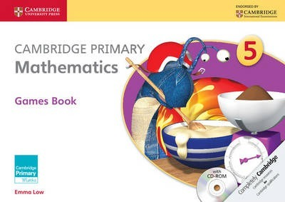 Cambridge Primary Maths: Cambridge Primary Mathematics Stage 5 Games book with CD-ROM - Emma Low