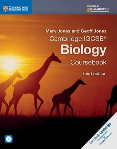Cambridge International IGCSE: Cambridge IGCSE (R) Biology Coursebook with CD-ROM - Mary Jones
