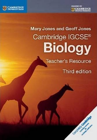 Cambridge International IGCSE: Cambridge IGCSE (R) Biology Teacher's Resource CD-ROM - Mary Jones