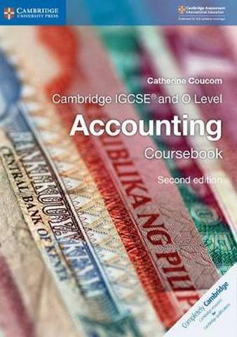 Cambridge International IGCSE: Cambridge IGCSE Accounting Student's Book - Catherine Coucom