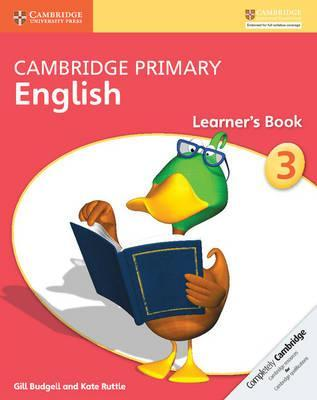 Cambridge Primary English: Cambridge Primary English Stage 3 Learner's Book - Gill Budgell