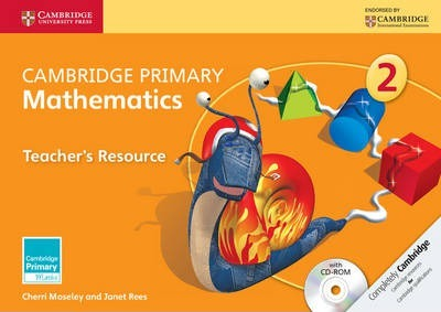 Cambridge Primary Maths: Cambridge Primary Mathematics Stage 2 Teacher's Resource with CD-ROM - Cherri Moseley