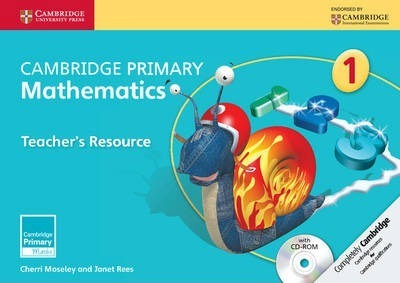 Cambridge Primary Maths: Cambridge Primary Mathematics Stage 1 Teacher's Resource with CD-ROM - Cherri Moseley