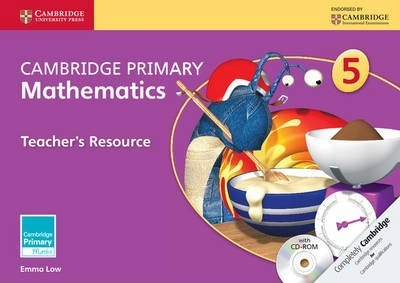 Cambridge Primary Maths: Cambridge Primary Mathematics Stage 5 Teacher's Resource with CD-ROM - Emma Low