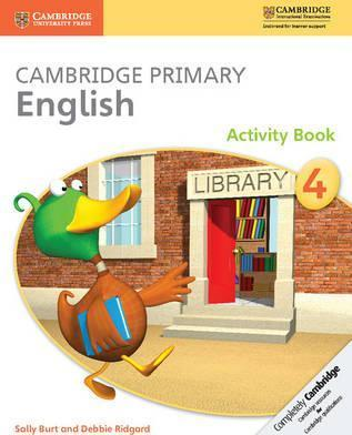 Cambridge Primary English: Cambridge Primary English Stage 4 Activity Book - Sally Burt