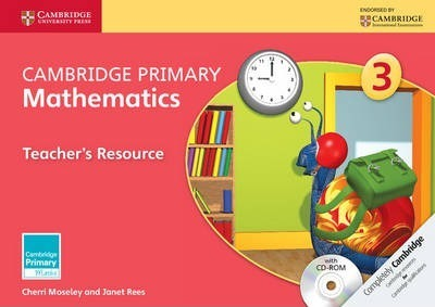 Cambridge Primary Maths: Cambridge Primary Mathematics Stage 3 Teacher's Resource with CD-ROM - Cherri Moseley
