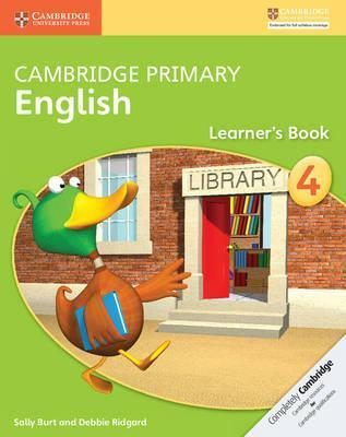 Cambridge Primary English: Cambridge Primary English Stage 4 Learner's Book - Sally Burt
