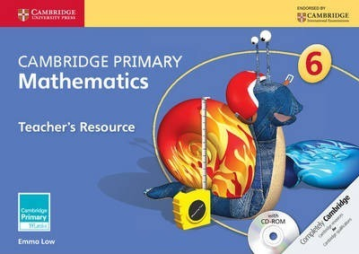 Cambridge Primary Maths: Cambridge Primary Mathematics Stage 6 Teacher's Resource with CD-ROM - Emma Low