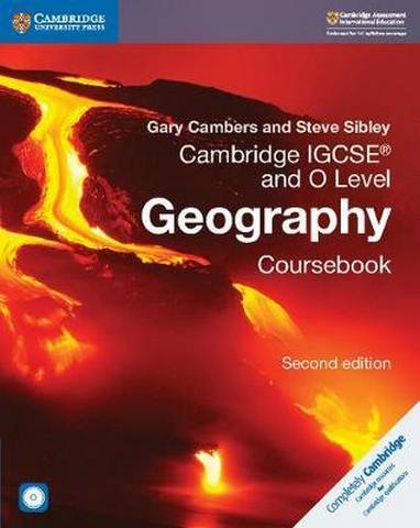 Cambridge International IGCSE: Cambridge IGCSE (R) and O Level Geography Coursebook with CD-ROM - Gary Cambers
