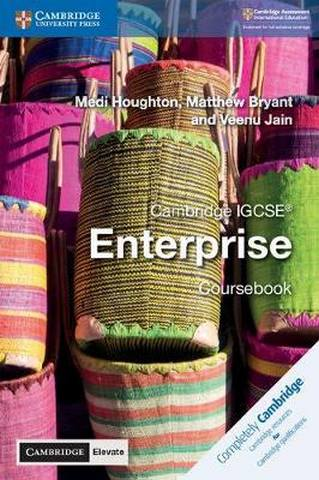 Cambridge International IGCSE: Cambridge IGCSE (R) Enterprise Coursebook with Cambridge Elevate Edition (2 Years) - Medi Houghton