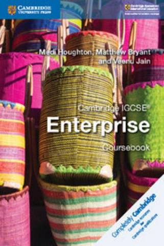 Cambridge International IGCSE: Cambridge IGCSE (R) Enterprise Coursebook - Medi Houghton
