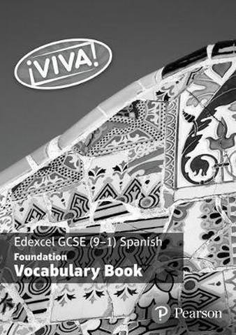 !Viva! Edexcel GCSE Spanish Foundation Vocabulary Book (pack of 8) -
