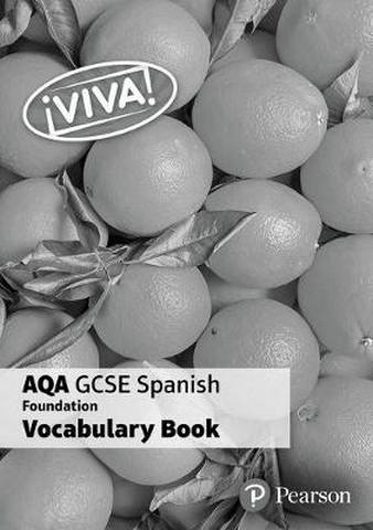 !Viva! AQA GCSE Spanish Foundation Vocabulary Book (pack of 8) -