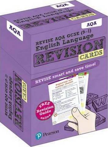 Revise AQA GCSE (9-1) English Language Revision Cards: with free online Revision Guide -