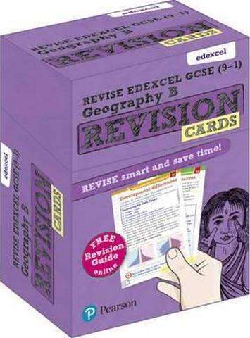 Revise Edexcel GCSE (9-1) Geography B Revision Cards: with free online Revision Guides - Rob Bircher